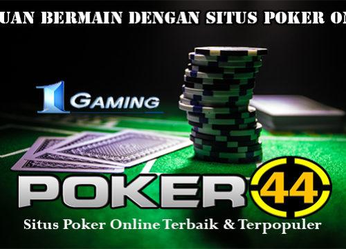 Panduan Bermain Dengan Situs Poker Online
