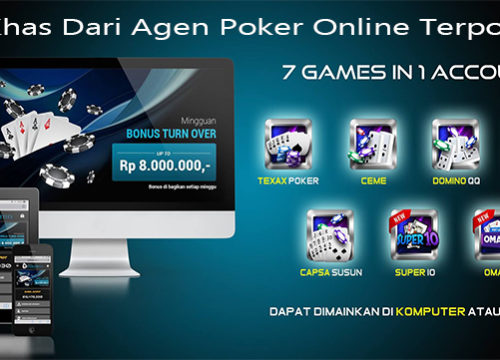 Ciri Khas Dari Agen Poker Online Terpopuler