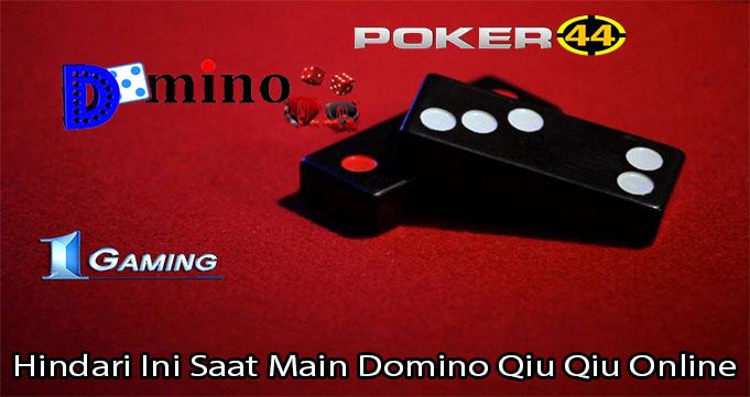 Hindari Ini Saat Main Domino Qiu Qiu Online
